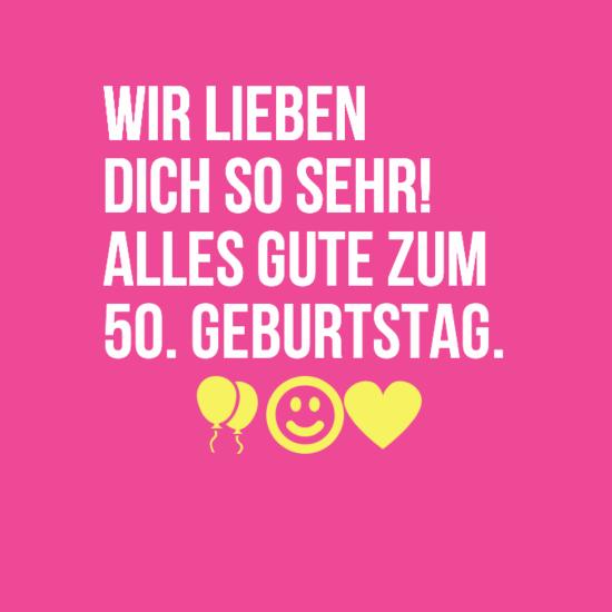 sprüche - Sprüche zum 50. Geburtstag | Sprüche für Whatsapp status ...