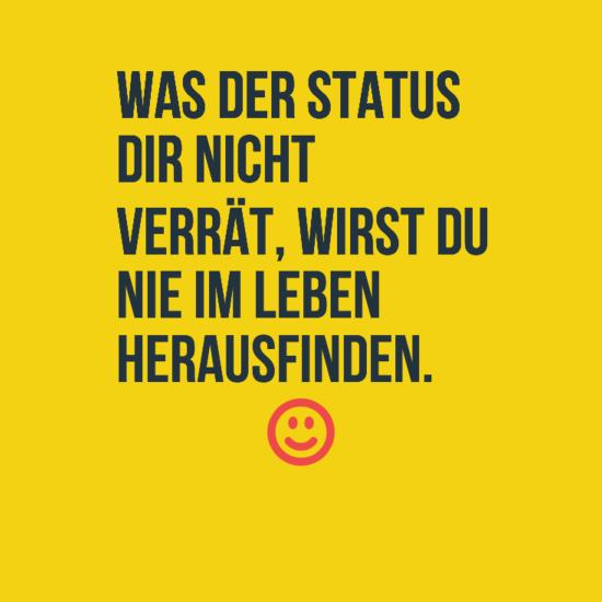 Witzige Statussprüche